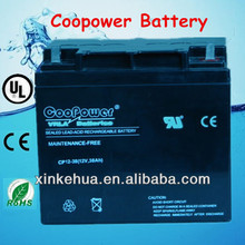 12v 38ah battery 6fm38 12v38ah lead acid battery