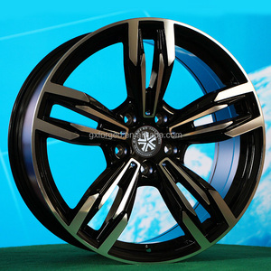 original new design aluminum alloy wheel 18/19/20/21 inch 5*120/112 black/chrome for OEM/ODM hot selling high quality car rims