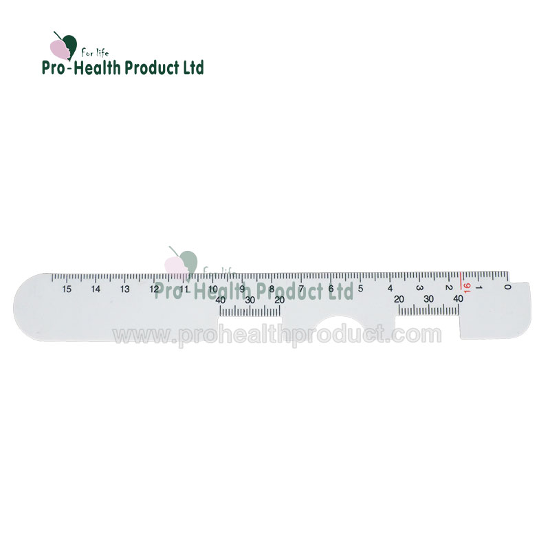 Measure Optical Vernier PD Ruler Pupil Distance Meter Eye Ophthalmic Tool PVC PD Ruler