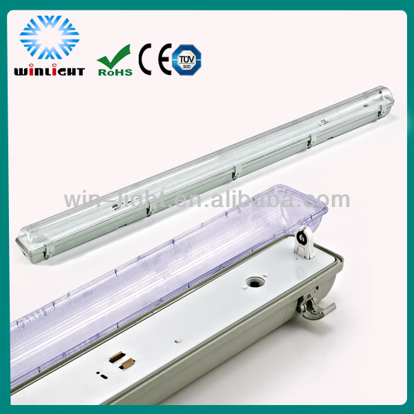 New design T8 2x36w Waterproof Fluorescent Lighting Fixture