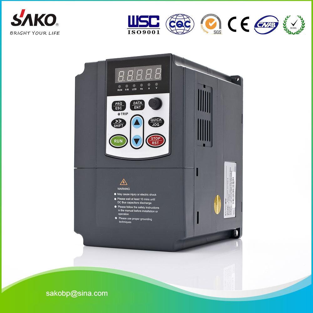 Inversor de accionamiento para control de velocidad del motor 380V 2.2KW Trif/ásico Entrada Salida VFD Frecuencia variable