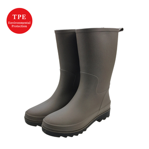 Environmental friendly most popular TPE hunter rain boots, boots women shoes ladies