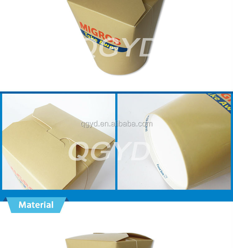 China Supplier Disposable Paper Noodle/candy/soup/ Fried Seafood ...