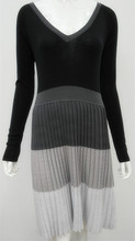 ladies autumn knitted dress