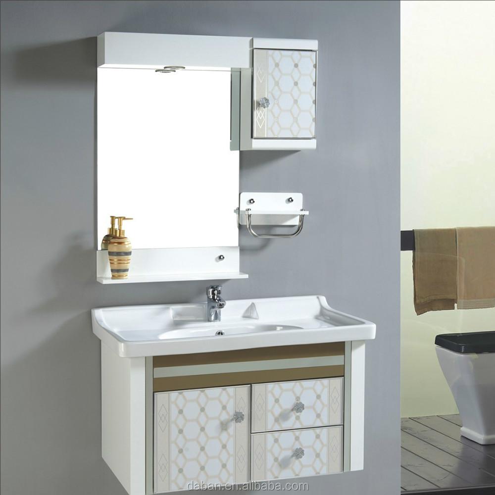 Alimentação sólida resistente à água madeira, Banheiro de madeira gabinete de -> Armario De Banheiro Resistente A Agua