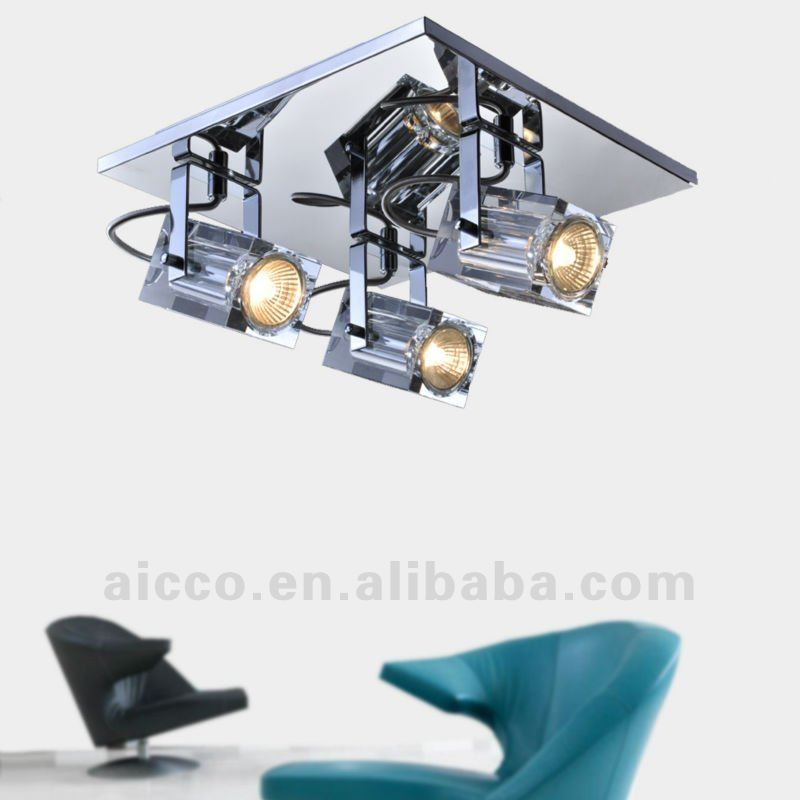 2012 hot sell popular modern LEDcrystal wall ceiling lamp