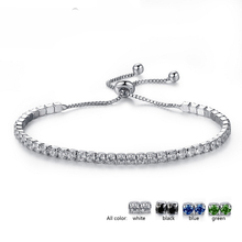 Fashion crystal 1 and 2 line crystal jewelry bracelet wholesale NS800187