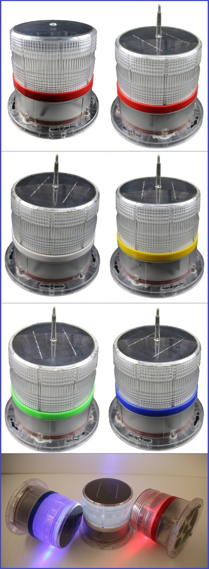Factory Sell Water Proof Ip68 Solar Powered Marine Navigation ...