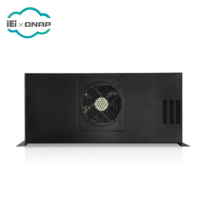 IEI ECA-100-R20 שחור שולחן עבודה/קיר-הר 1U תעשייתי מחשב מקרה
