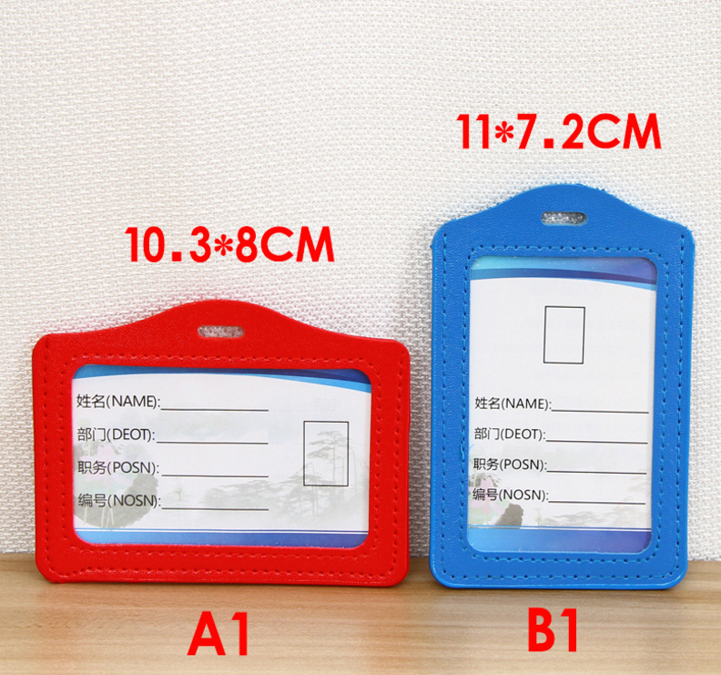 pu leather blank color card holder in stock  buy pu card