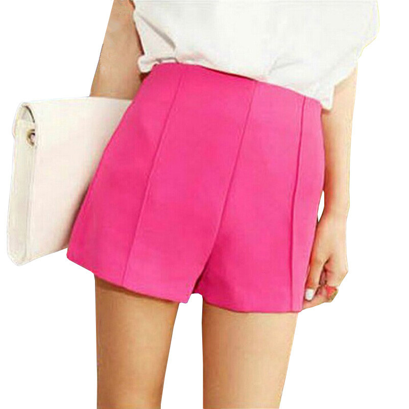 Summer Style Pantalones Cortos Mujer 2015 New Brand Women's Shorts High Quality Candy Color Fashion Shorts Women Casual Short