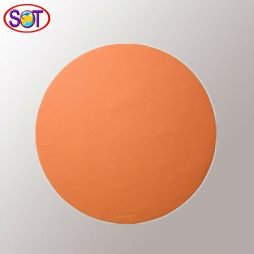 orange color ultrathin silicone mouse pad