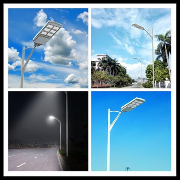 China High Lumen Outdoor Integrated Led Solar Street Light