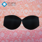 Wholesale cheap custom soft fitness bra pad round foam bra cup for swimwear