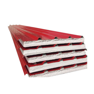 eps sandwich panel insulated steel roofing board