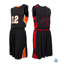 basketball jersey league team sports uniform with custom designed