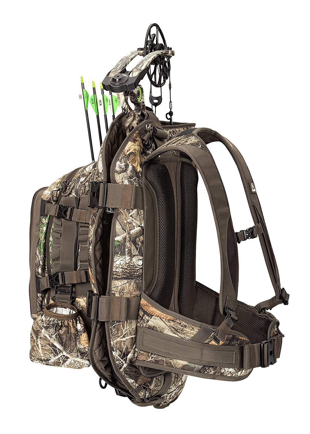 98cecba3f Get Quotations · INSIGHTS Hunting The Vision Compound Bow Carrier Pack in  Realtree Edge