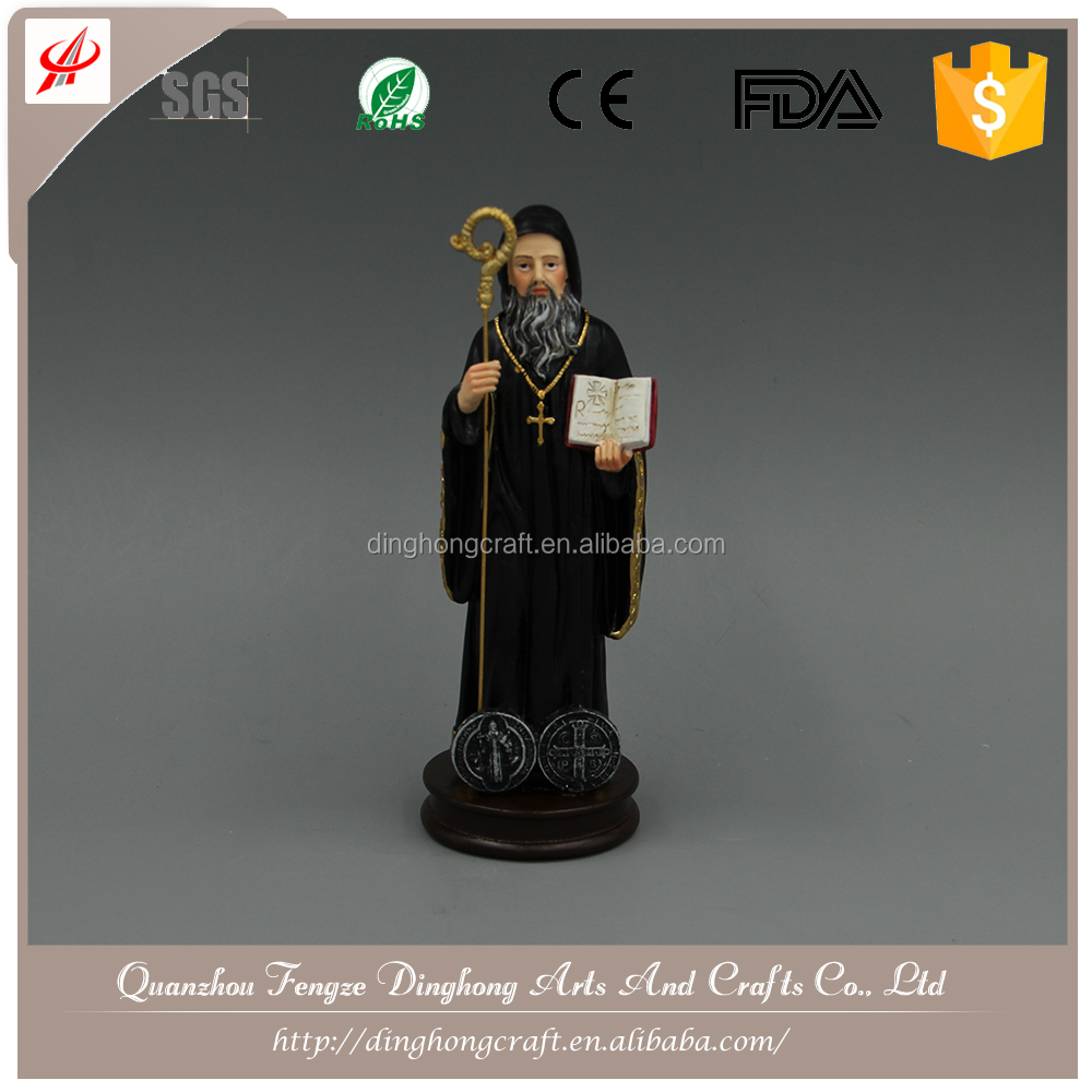 Resin Crafts Unique Home Decorations Chinese Religious Statue