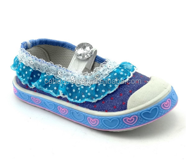 wholesale $1 dollar girls' shoes nice looking kids footwear