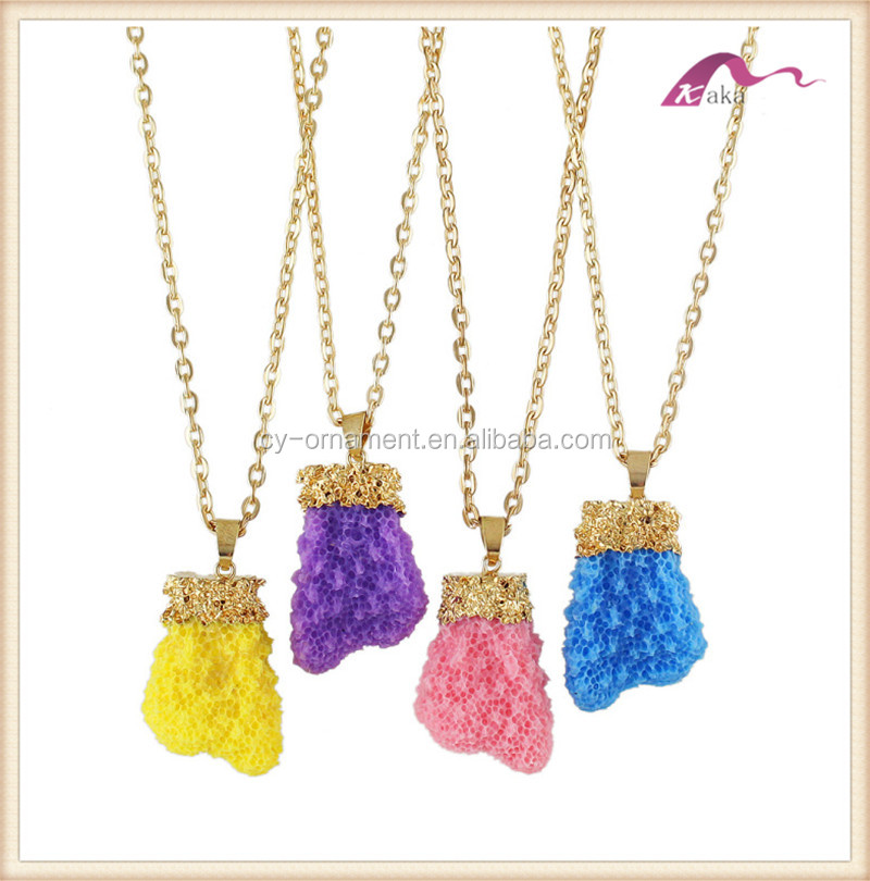 Charming Thin Chain Alloy Necklace Rainbow Necklace for Woman