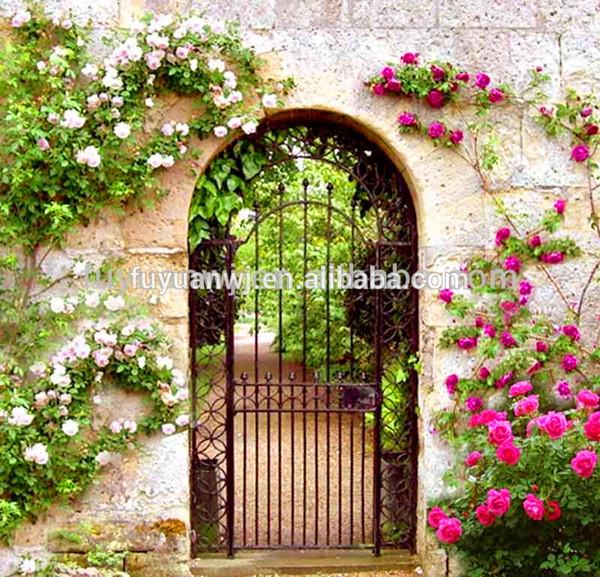 Home Design Gate Ideas: Modern House Gate Grill Designs/luxury Wrought Iron Gate