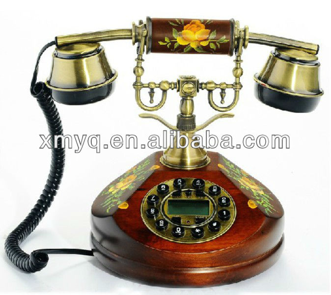 European Style Telephone Antique Decoration