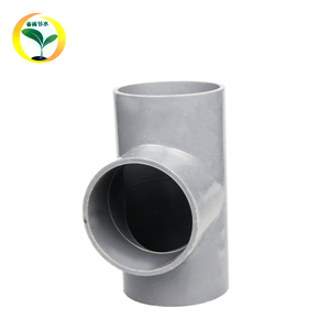 63mm PVC Equal Tee Water System Plastic Manufacturers PVC Pipe