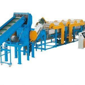Plastic PP PE Bottle Scrap Flakeswashing Drying Flakes Washing Recycling Line