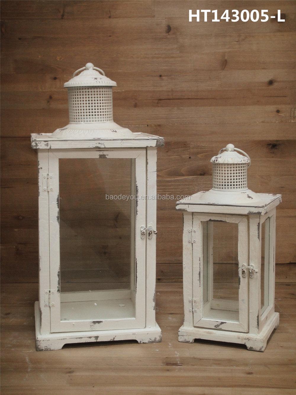 d coration de la maison grand en bois lanterne pour bougies chandelier id de produit 60142850629. Black Bedroom Furniture Sets. Home Design Ideas