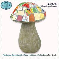 Hand Made Colorful Mushroom Wholesale Garden Stone Decoration Company