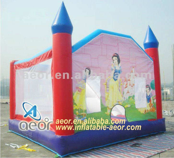 2012 Hot inflatable Princess jumping castle combo bounce for toddlers