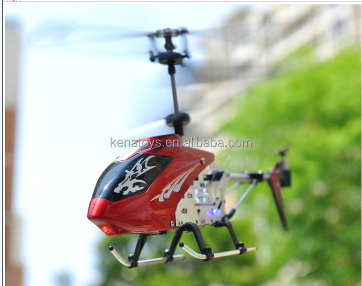 Good sale Remote control 3.5 channel red color fly rc helicopter with gyro