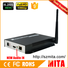 1080P h.265 hdmi wifi video encoder ethernet for IP stream