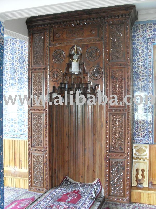 Genial Wood Mosque Niche Furniture   Buy Altar Niche Pulpit Minbar Mosque  Decoration Product On Alibaba.com