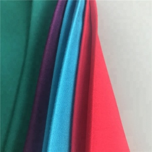 Shaoxing textile hot sale 100% Viscose rayon satin fabric