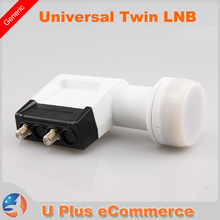 LA2080 Universal Ku Band Twin LNB High Gain Low Noise 0.1db Best Twin HD Digital LNBF hot selling