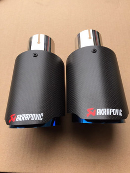 Fonkelnieuw Akrapovic Stainless Steel Exhaust Pipe Akrapovic Muffler Tips For RK-91