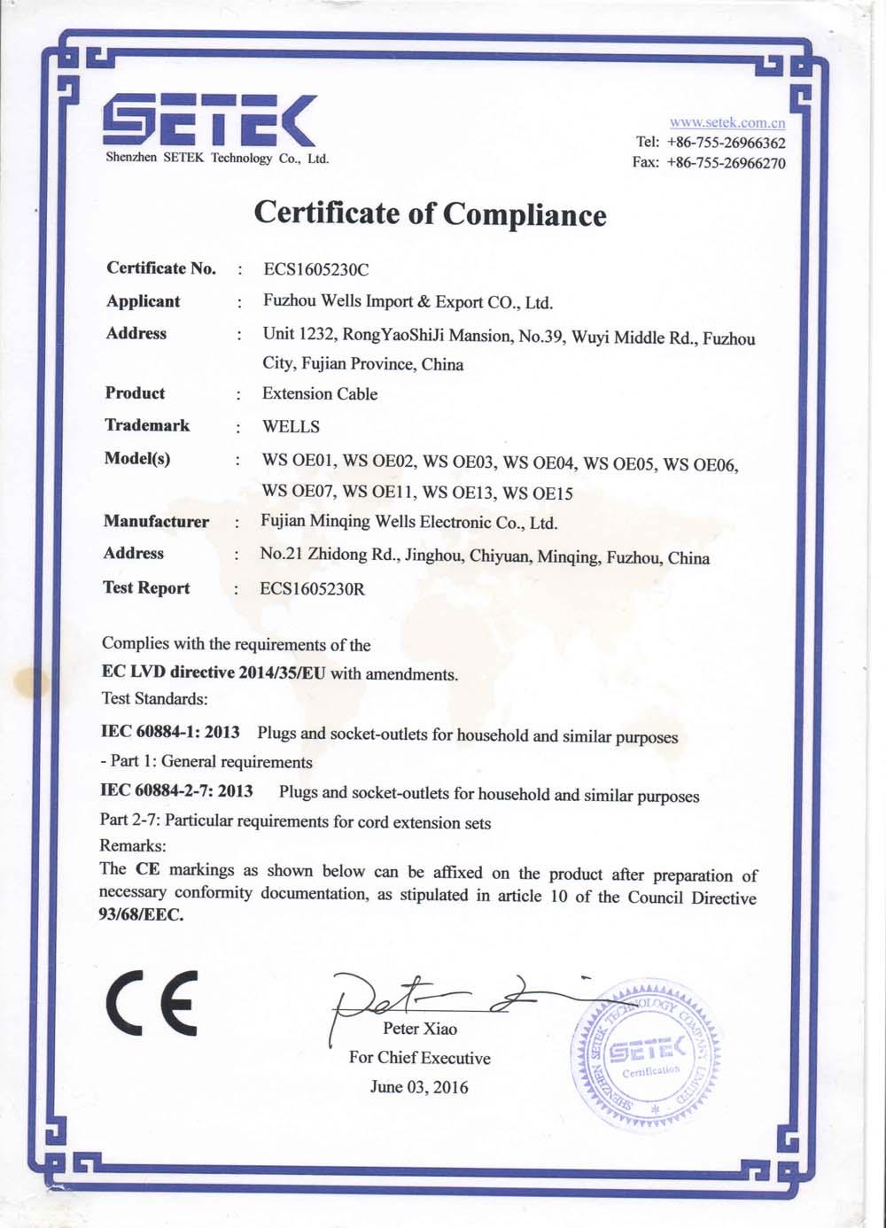 Company Overview - Fujian Minqing Wells Electronic Co , Ltd
