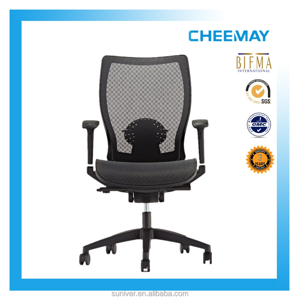 Popular best ergonomic mesh chair with Italy Donati mech plastic office chair
