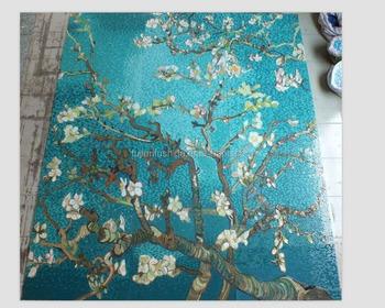 Groene Mozaiek Tegels : Groene bloem mozaïektegels ontwerpideeën dit schilderij mozaïek