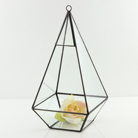 2018 Factory direct sale the newest high quality glass terrarium plant holder decorative artifical moss for home decor