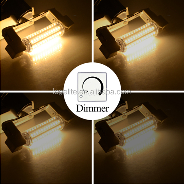CE 22mm 78mm 5 W 118mm 10 W 135mm 12 W 189mm 15 W R7S LED
