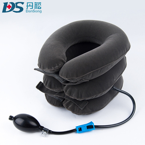 Traction system spondylosis massager cervical neck traction device