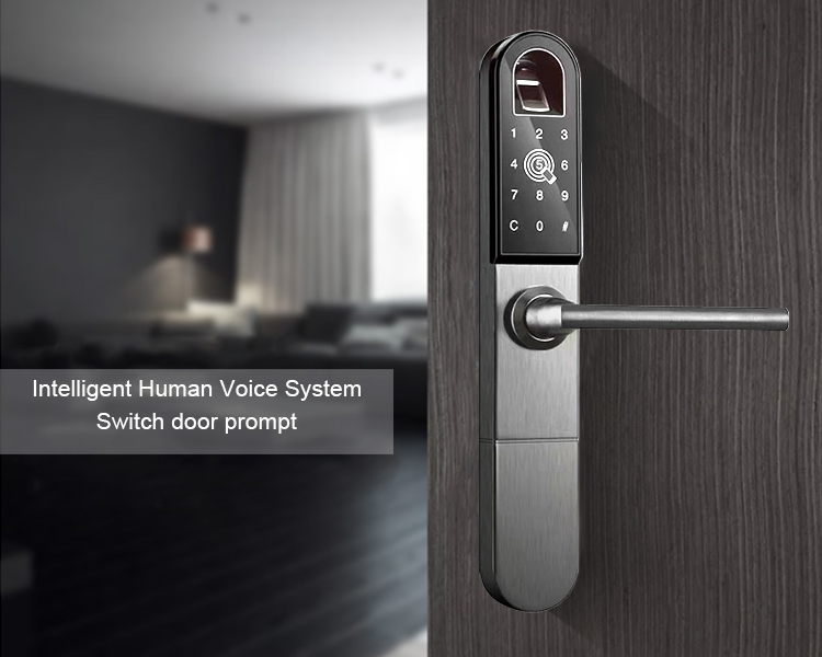 Eseye APP Remote Control Code Biometric Fingerprint Door Lock Bluetooth Smart Digital Lock Door