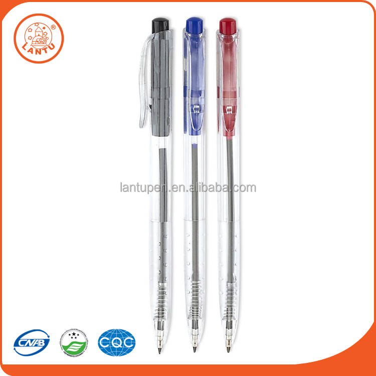 Lantu 2016 Wenzhou China Suppliers Plastic Ball Point Pen Promotion Ballpen