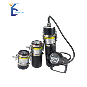High Efficiency underwater hid dive canister light