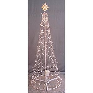 get quotations ge twinkle 75ft indooroutdoor clear lights musical christmas tree with speaker apple and