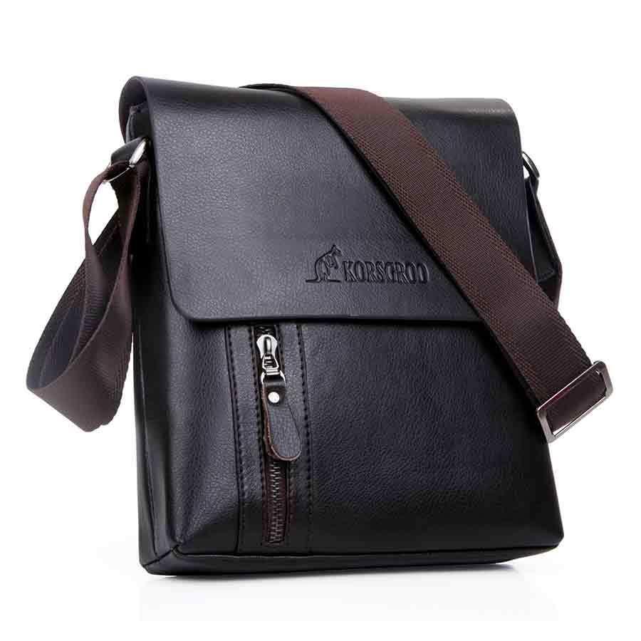 Get Quotations · 2015 New Famous Brand Design Leather Men Bag Casual  Business Leather Mens Messenger Bag Vintage Fashion 11b984a01b316