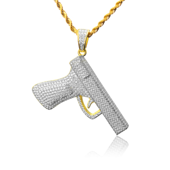 Hp0017 custom gold hip hop pendants 14k gold plated micro pave cz hp0017 custom gold hip hop pendants 14k gold plated micro pave cz hip hop jewelry aloadofball