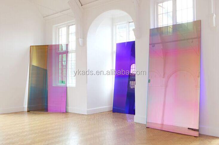 Hot Sale Beautiful Iridescent Acrylic Sheet Fluorescent
